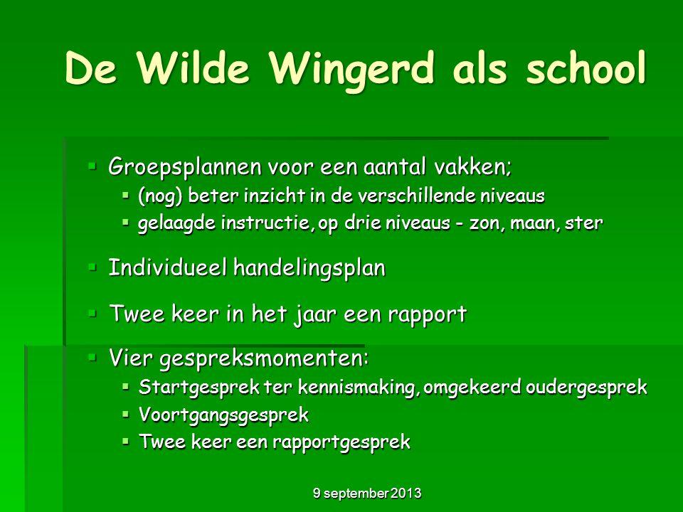 De Wilde Wingerd als school