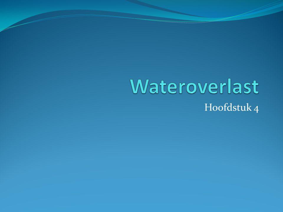 Wateroverlast Hoofdstuk 4