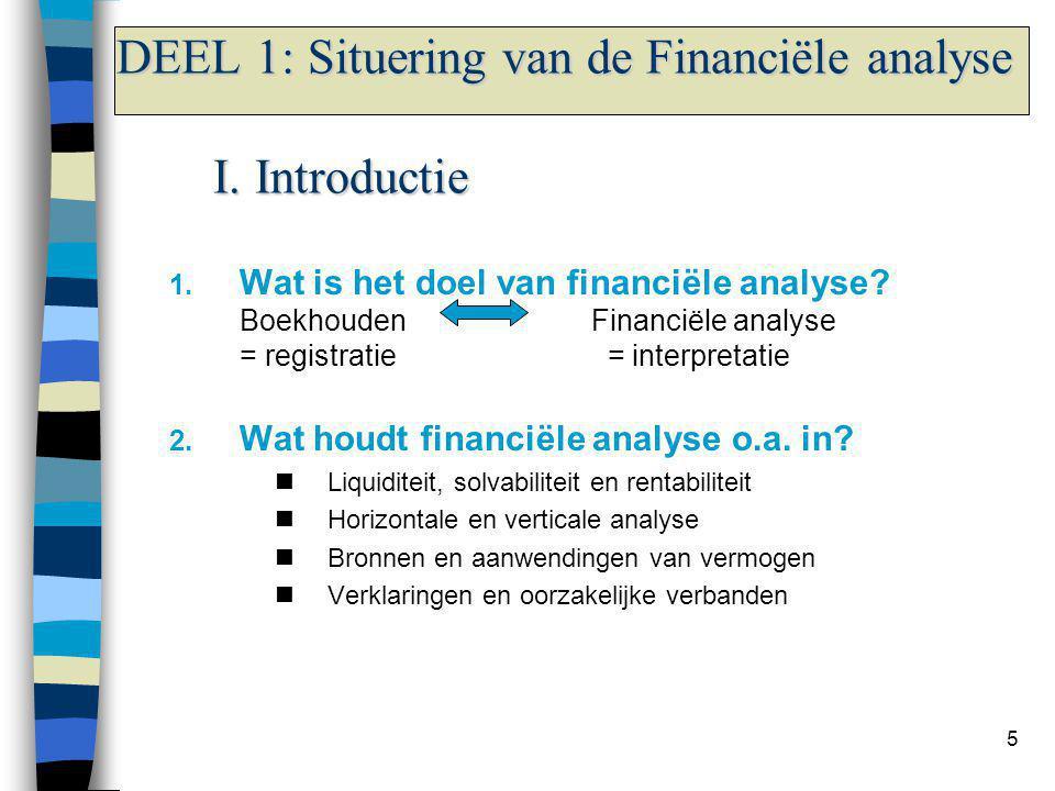 Wie gebruikt er technieken van financiële analyse