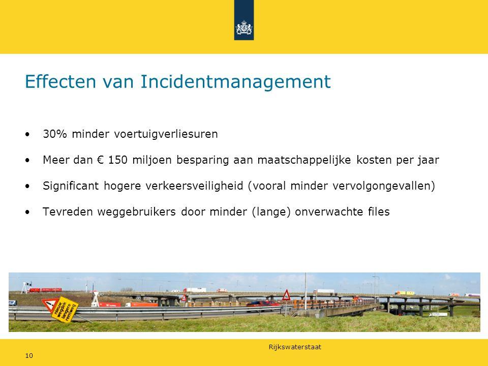 Effecten van Incidentmanagement