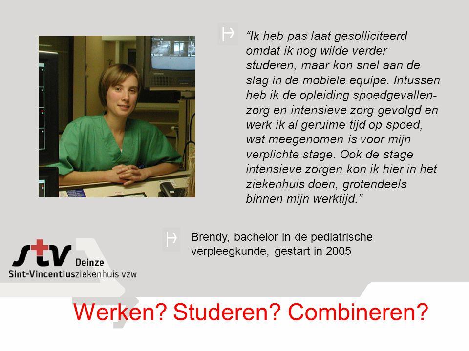 Werken Studeren Combineren