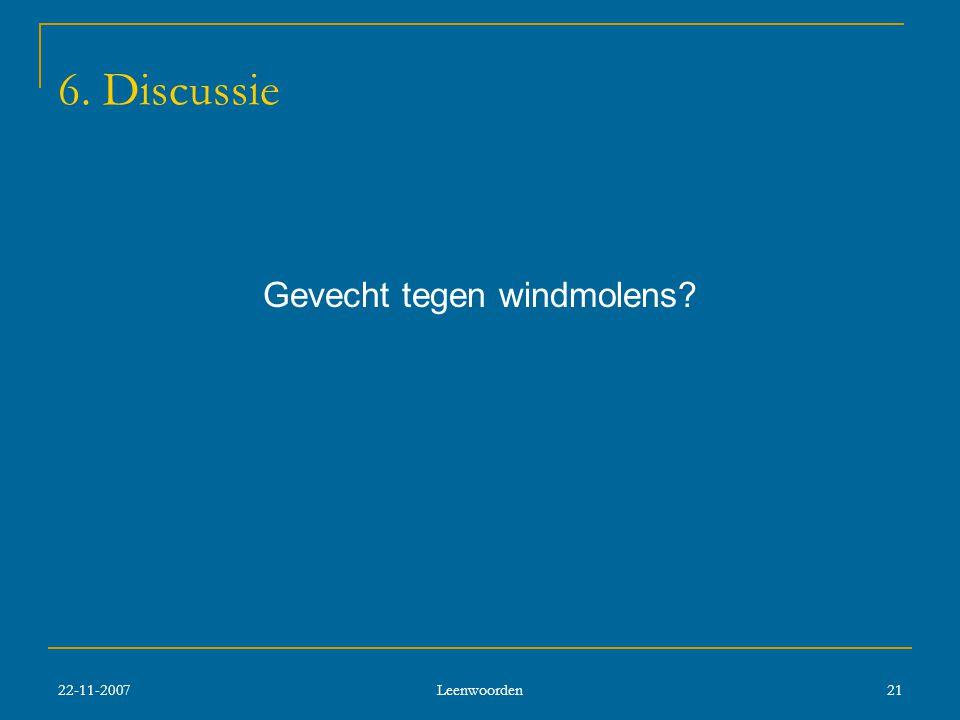Gevecht tegen windmolens