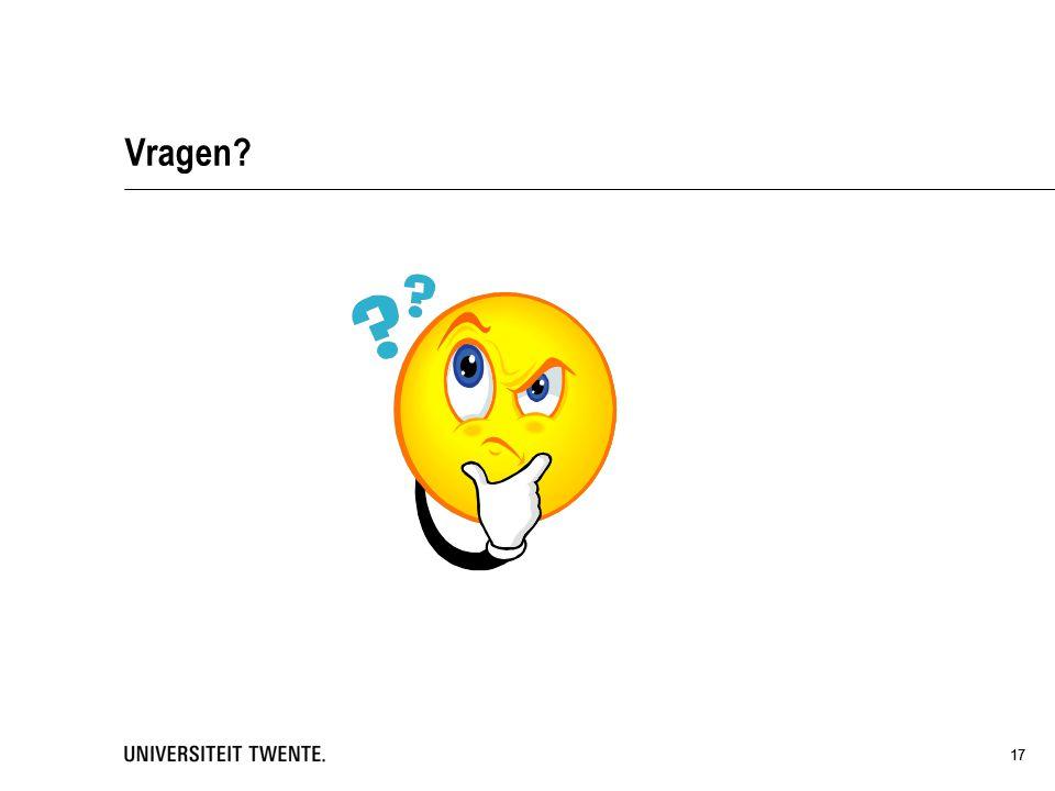 05 maart 2013 Vragen 17