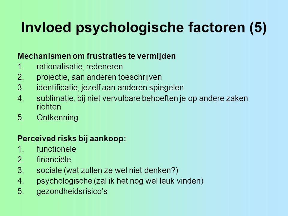 Invloed psychologische factoren (5)