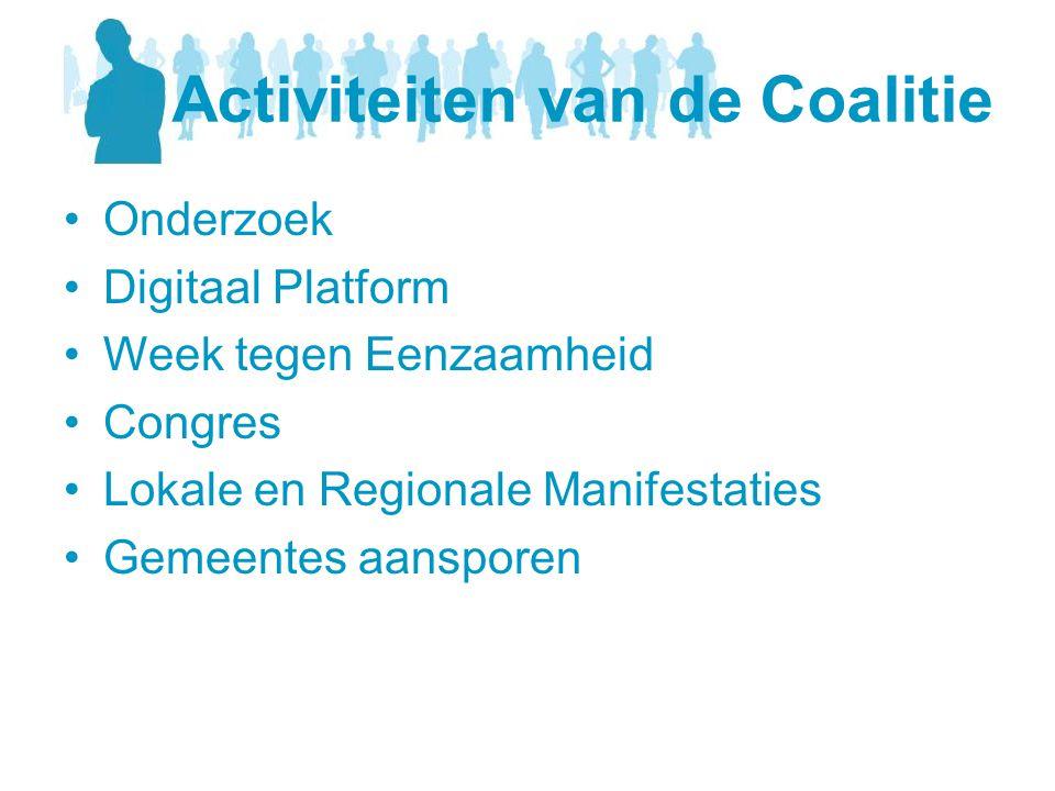 Activiteiten van de Coalitie