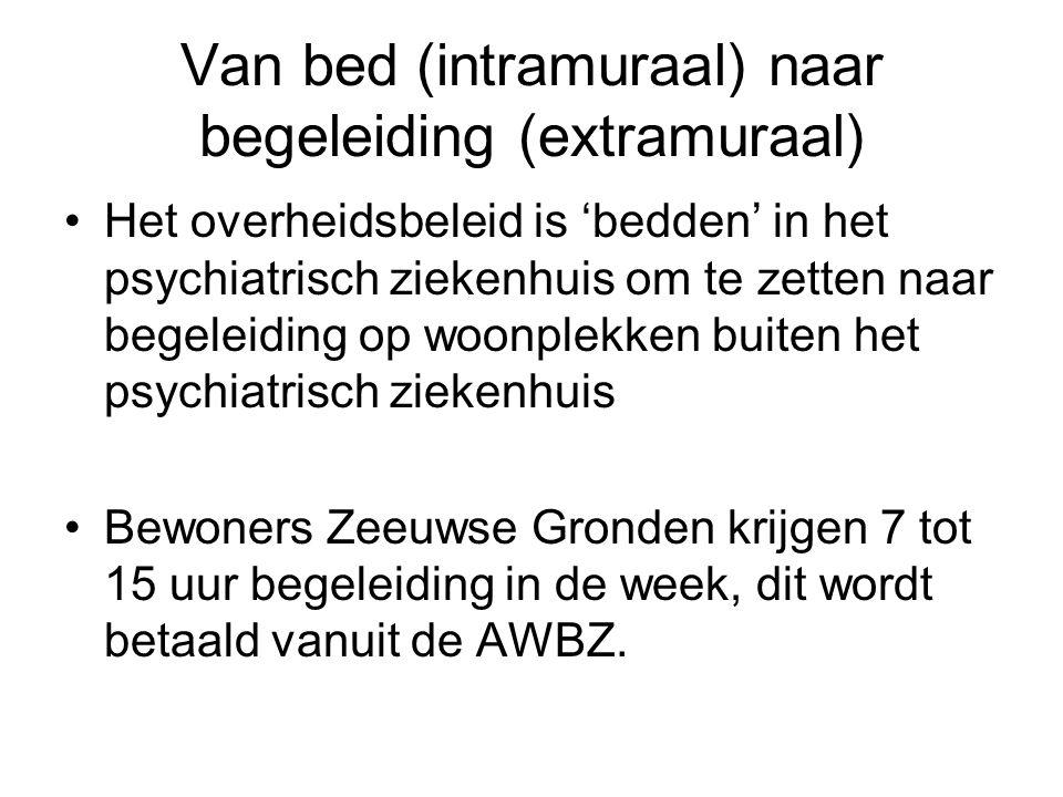 Van bed (intramuraal) naar begeleiding (extramuraal)
