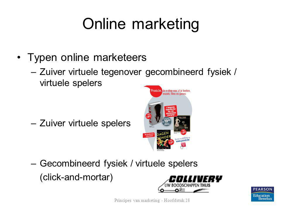 Principes van marketing - Hoofdstuk 18