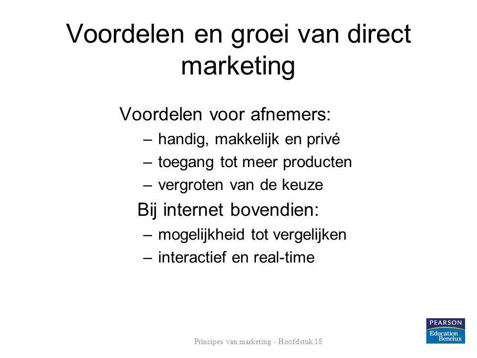 Voordelen en groei van direct marketing