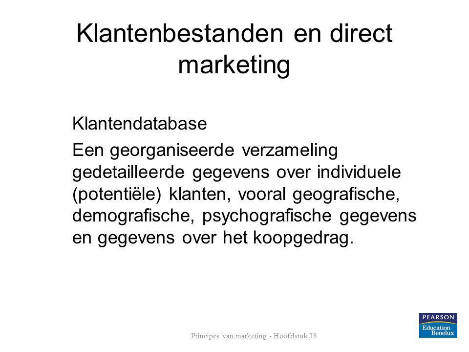 Klantenbestanden en direct marketing