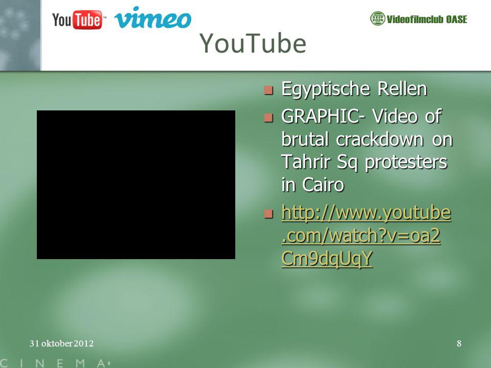 YouTube Egyptische Rellen