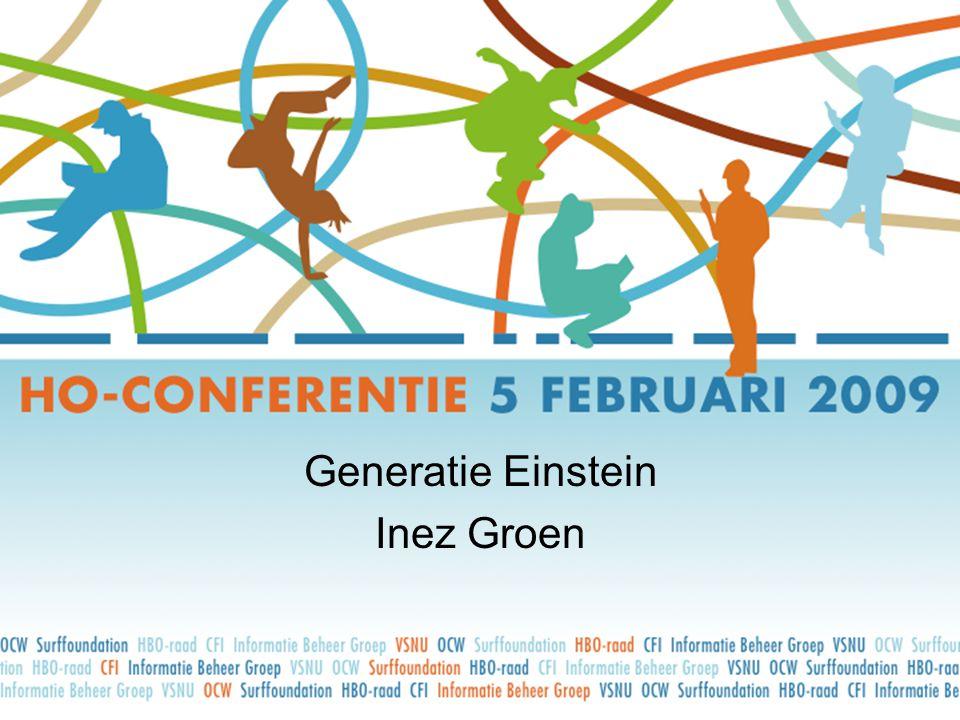 Generatie Einstein Inez Groen