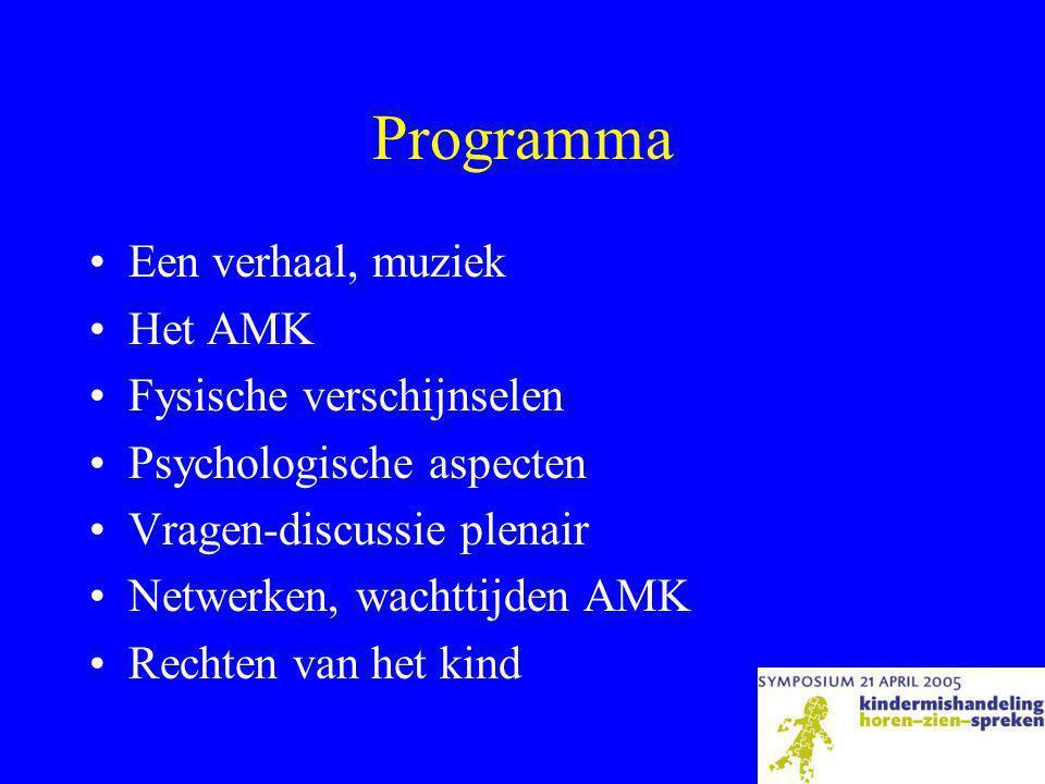 Programma Een verhaal, muziek Het AMK Fysische verschijnselen