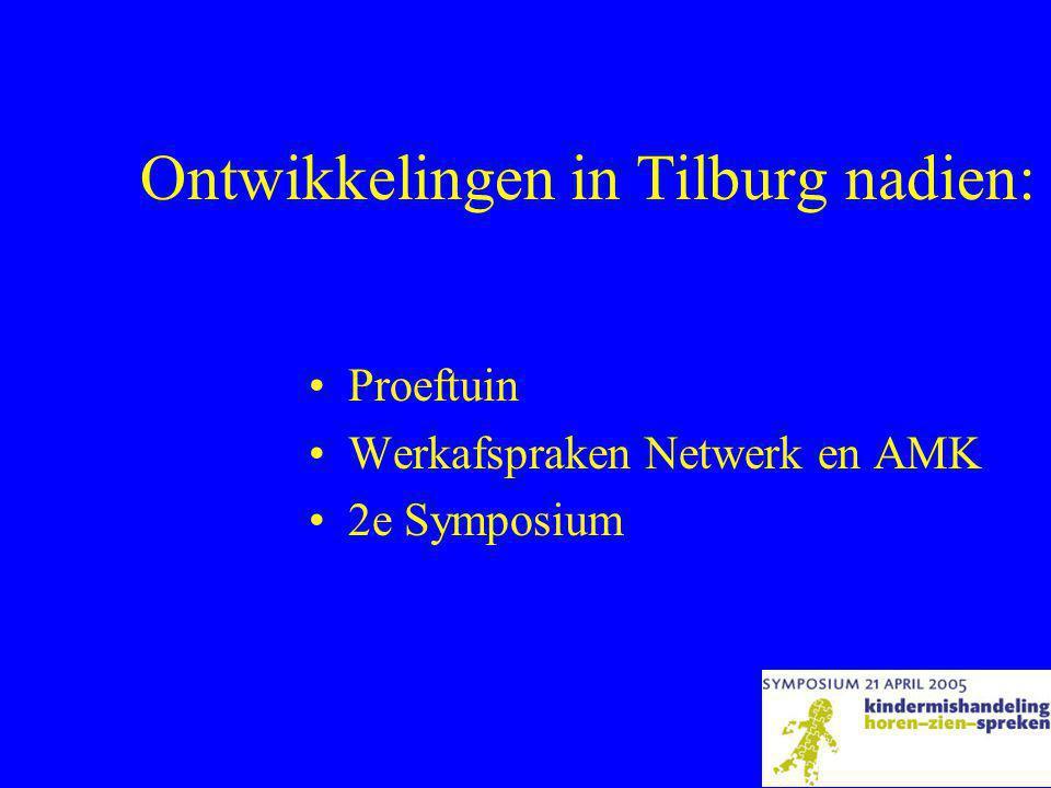 Ontwikkelingen in Tilburg nadien: