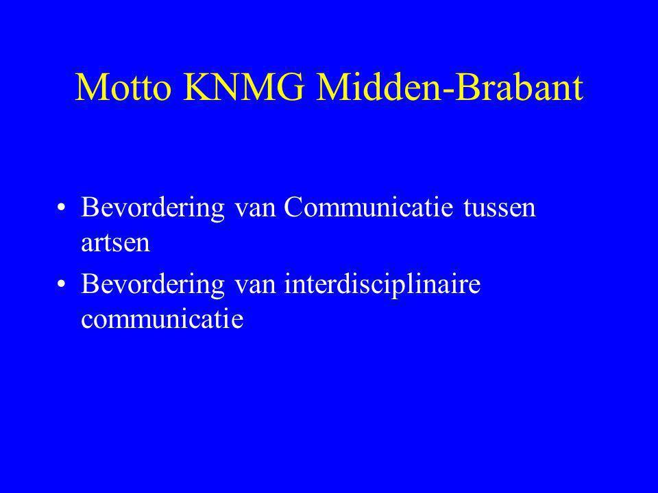 Motto KNMG Midden-Brabant