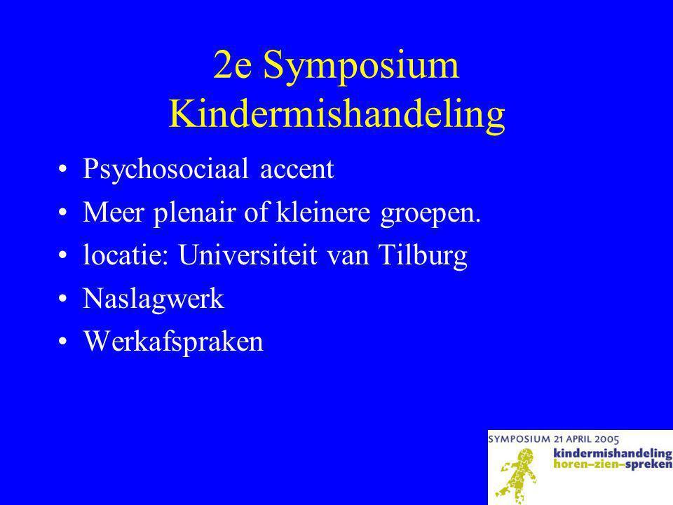 2e Symposium Kindermishandeling