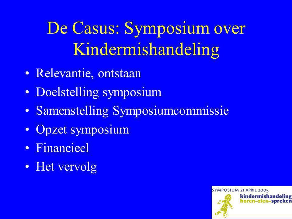 De Casus: Symposium over Kindermishandeling