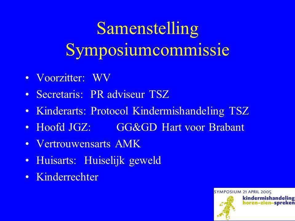 Samenstelling Symposiumcommissie