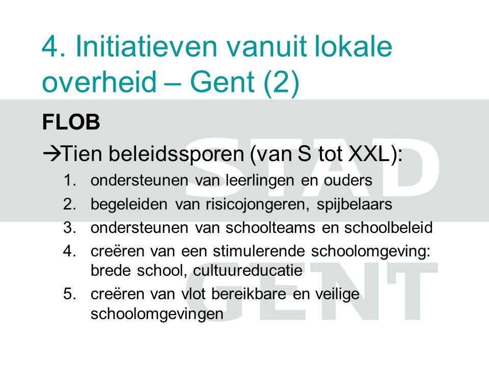 4. Initiatieven vanuit lokale overheid – Gent (2)