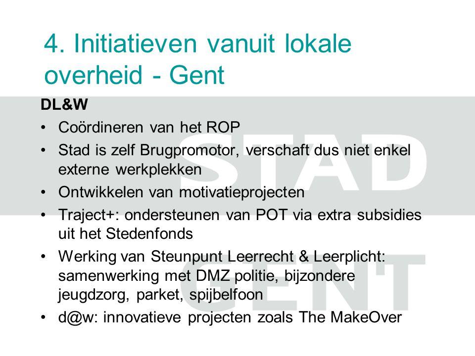 4. Initiatieven vanuit lokale overheid - Gent