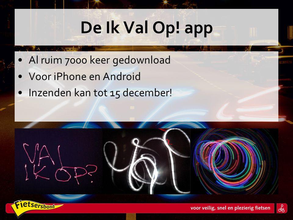 De Ik Val Op! app Al ruim 7000 keer gedownload Voor iPhone en Android