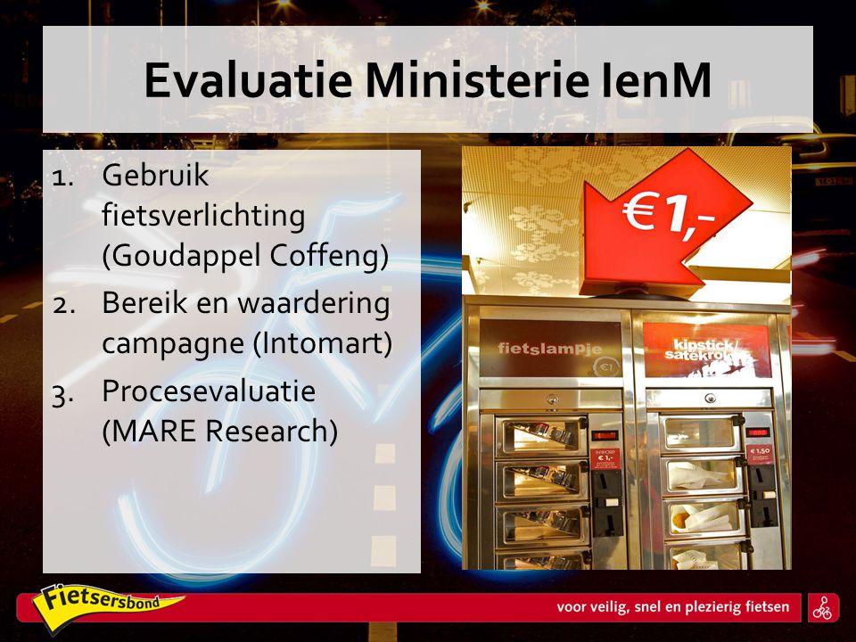 Evaluatie Ministerie IenM
