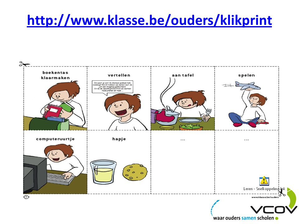 http://www.klasse.be/ouders/klikprint