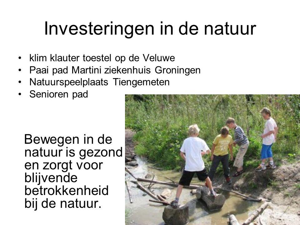 Investeringen in de natuur