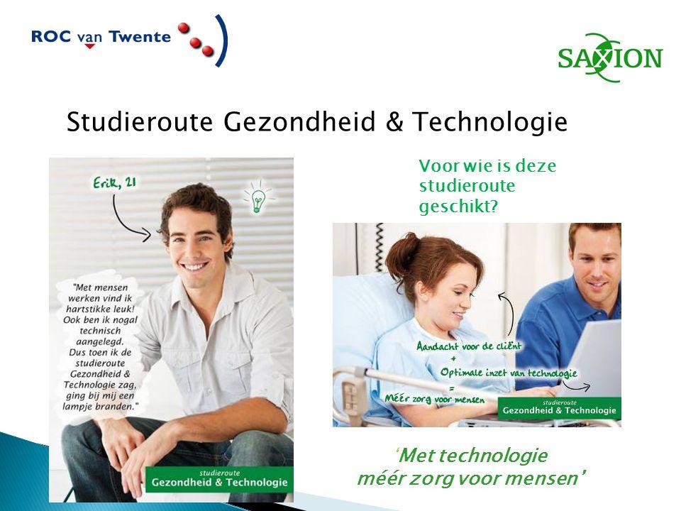 Studieroute Gezondheid & Technologie