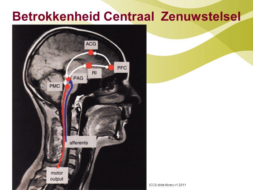 Betrokkenheid Centraal Zenuwstelsel