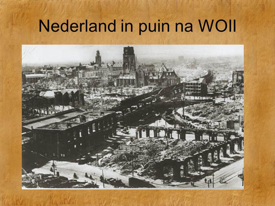 Nederland in puin na WOII