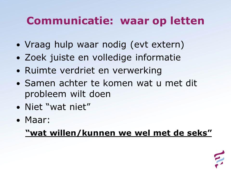 Communicatie: waar op letten