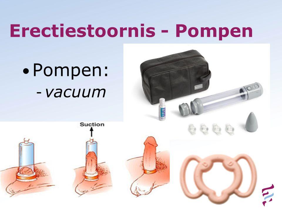 Erectiestoornis - Pompen