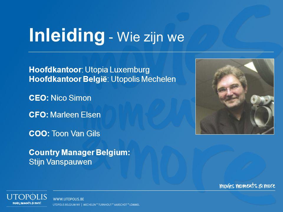 Inleiding - Wie zijn we Hoofdkantoor: Utopia Luxemburg