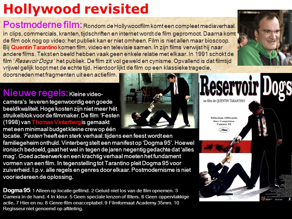 Hollywood revisited