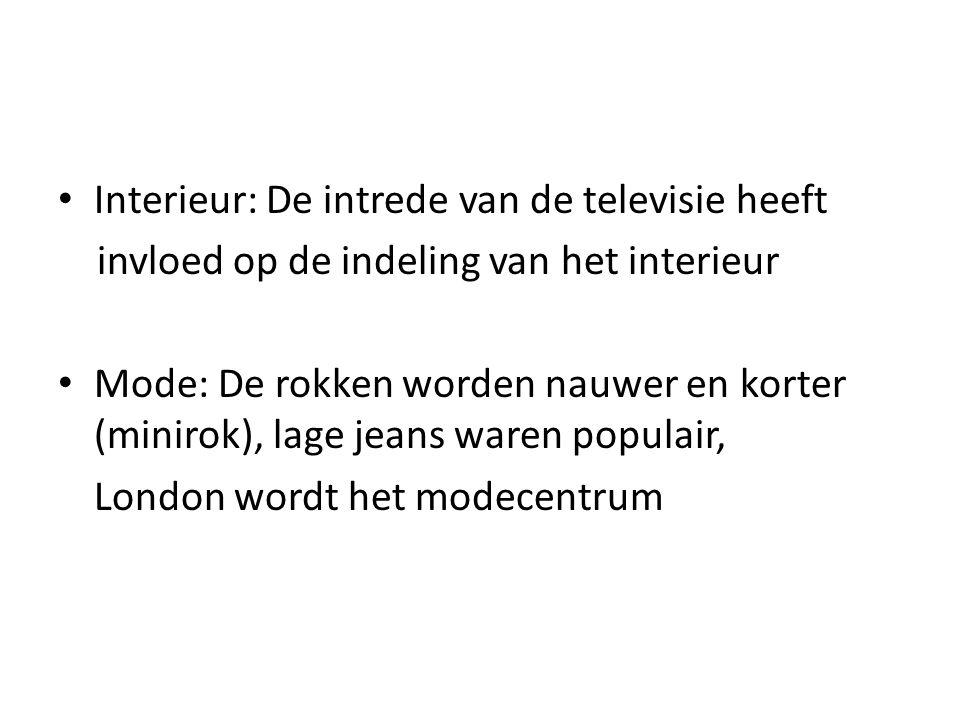 Interieur: De intrede van de televisie heeft