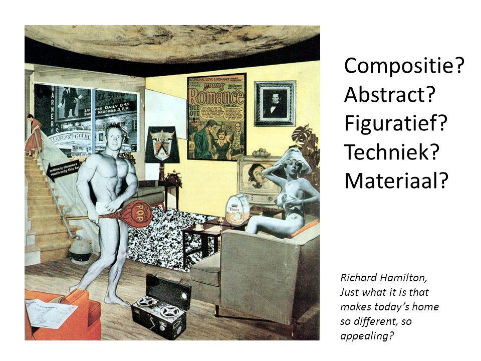Compositie Abstract Figuratief Techniek Materiaal