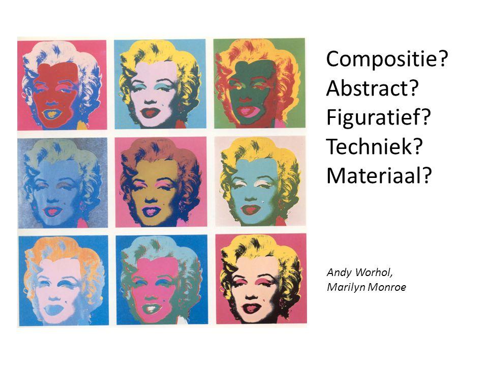Compositie Abstract Figuratief Techniek