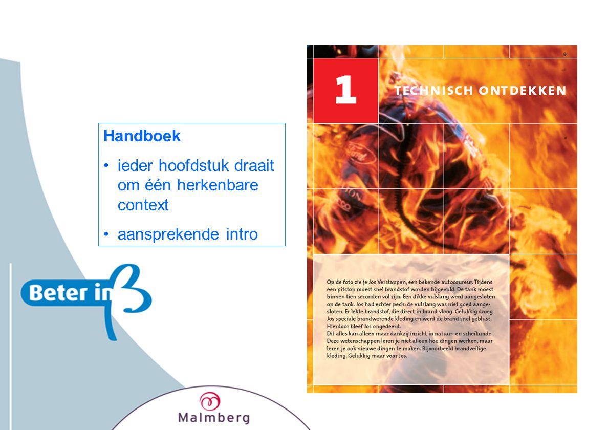 Handboek ieder hoofdstuk draait om één herkenbare context aansprekende intro