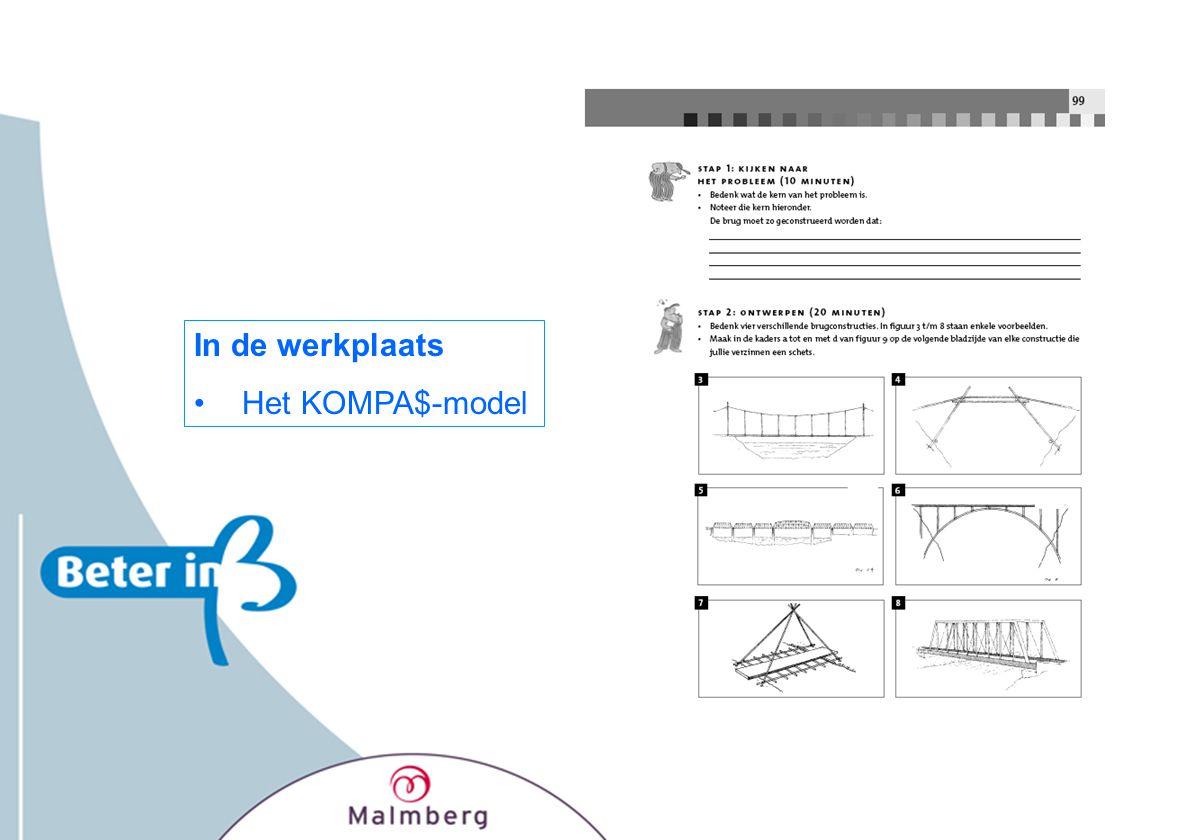 In de werkplaats Het KOMPA$-model
