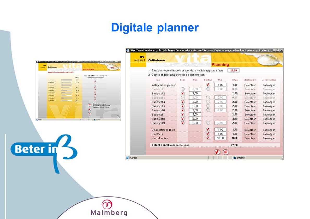 Digitale planner