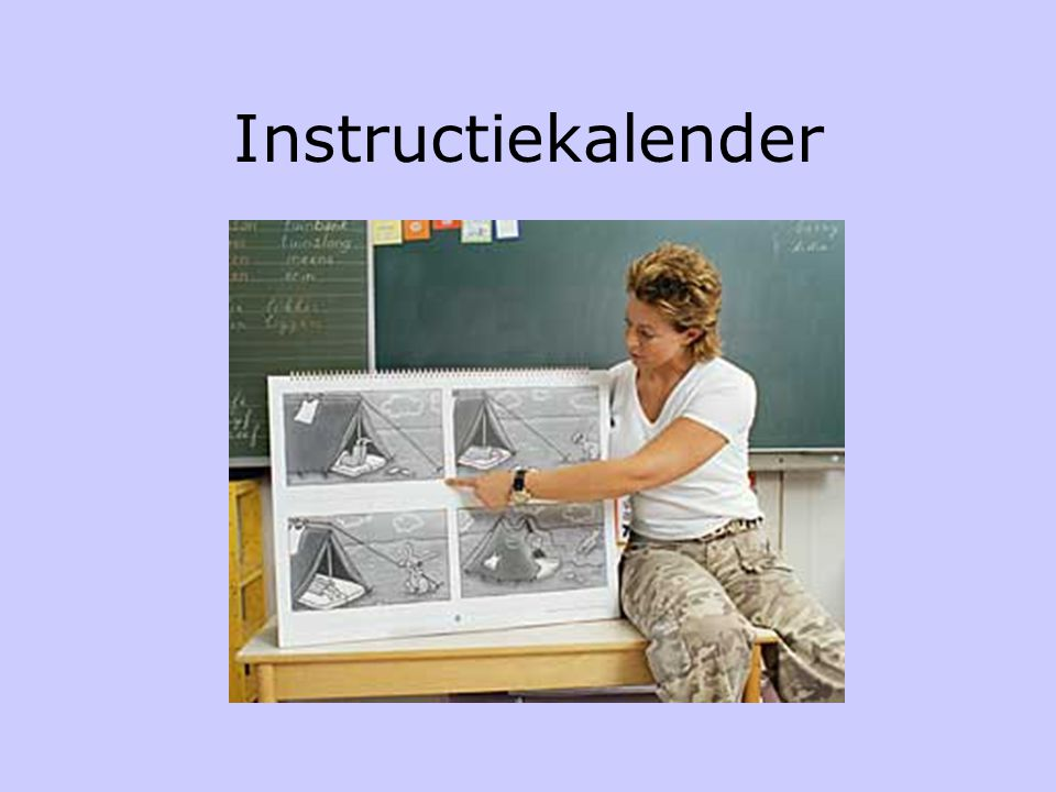 Instructiekalender