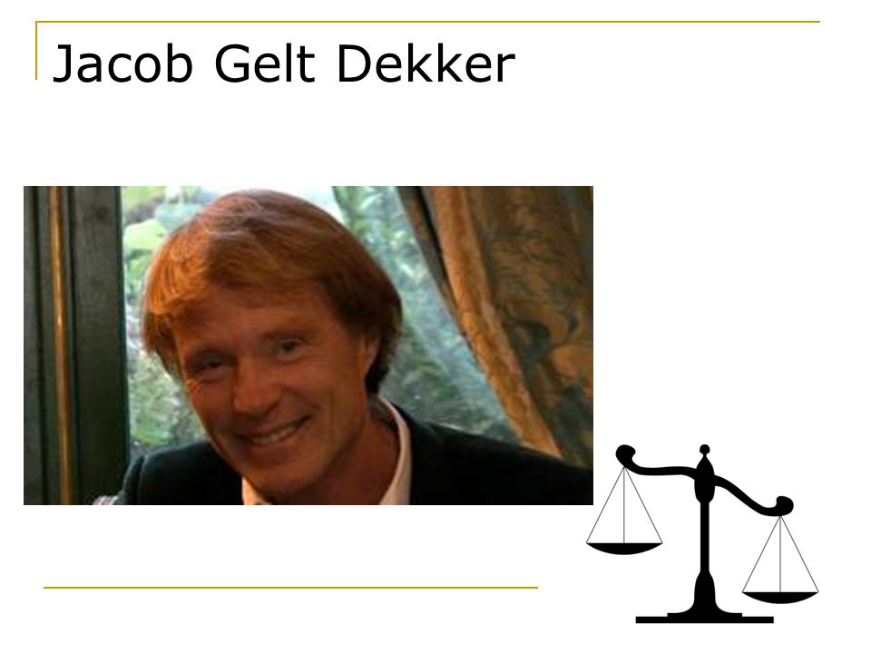 Jacob Gelt Dekker
