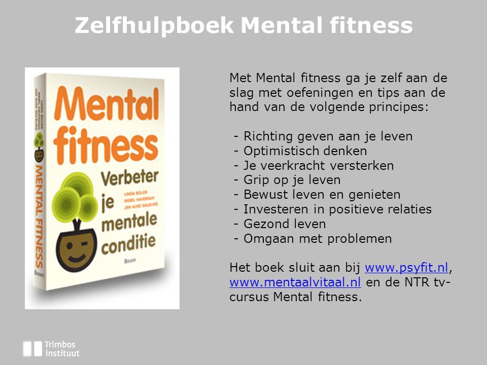 Zelfhulpboek Mental fitness