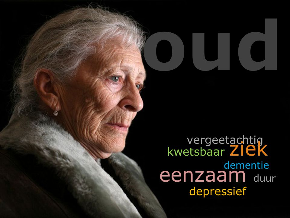 oud vergeetachtig kwetsbaar ziek dementie eenzaam duur depressief