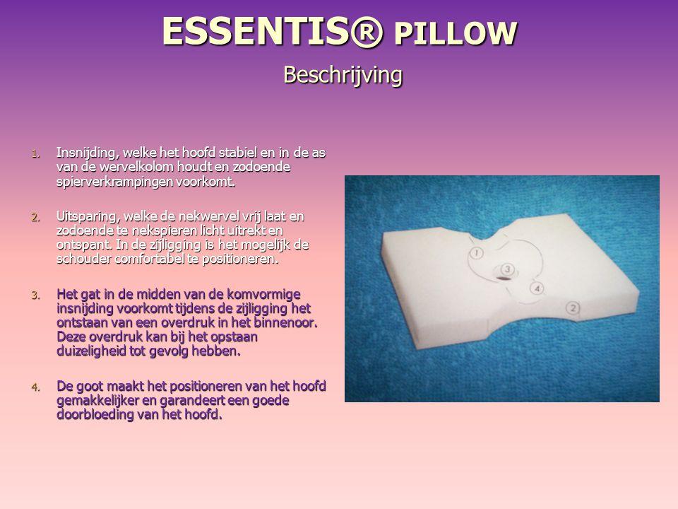 ESSENTIS® PILLOW Beschrijving