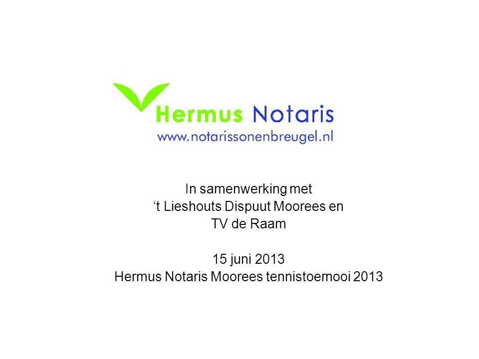 't Lieshouts Dispuut Moorees en TV de Raam 15 juni 2013