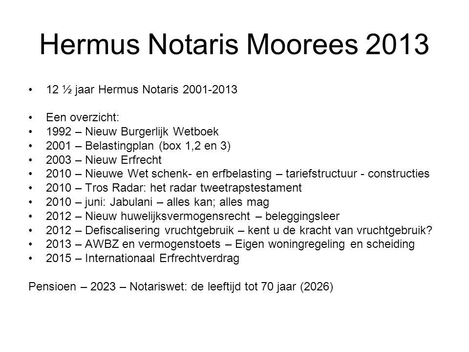 Hermus Notaris Moorees 2013