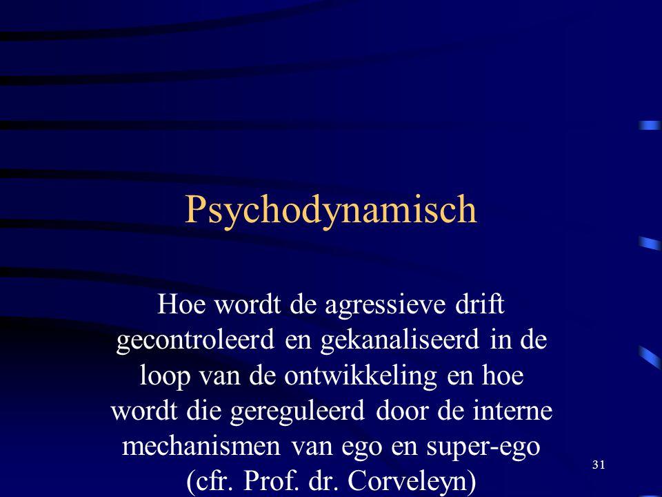 Psychodynamisch