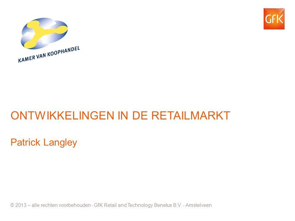 Ontwikkelingen in de retailmarkt