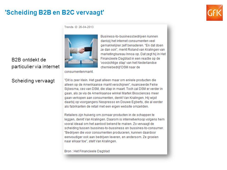 Scheiding B2B en B2C vervaagt